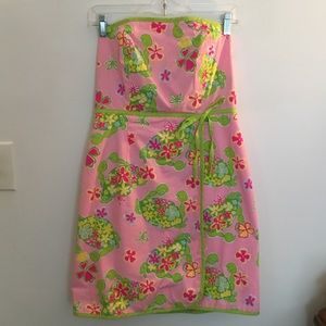 Patterned Lilly Pulitzer Dress